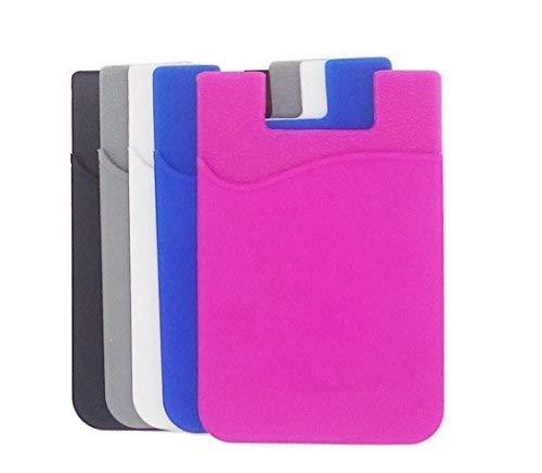 Kaptin 10Pack Telefono Cellulare Porta Carte, con Adesivo 3m di Manicotto in Silicone da...