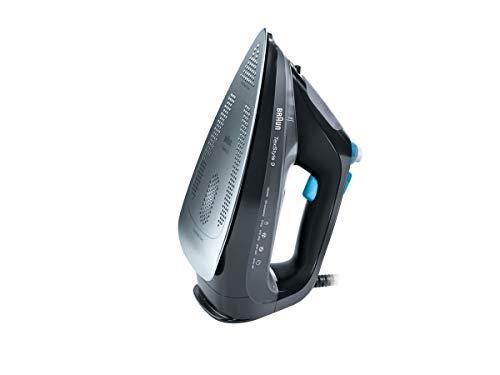 Braun SI9188BK Ferro da Stiro, 2800 W, 330 Litri, 50, Plastic, Nero