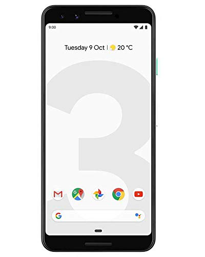 Google Pixel 3 (Clearly White, 4GB RAM, 64GB Storage)