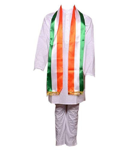 Fancydresswale Republic Day/Independence Day Tricolor/ Tricolour/Tiranga Stole Combo for Kids