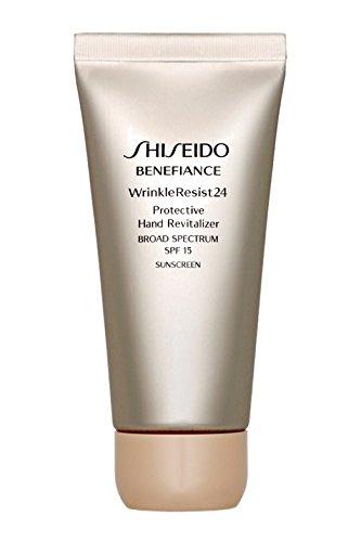 Shiseido Benefice Wrinkle Resist 24 Protective Hand Revitalizer SPF 15, 75ml