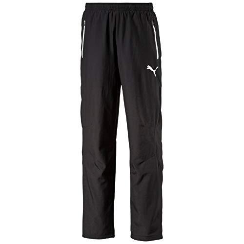 Puma Herren Hose Leisure Pants, black-white, XL