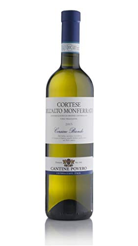 Cantine Povero - Cortese Dell'Alto Monferrato Frizzante'Corsiero Biondo' 0,75 lt.
