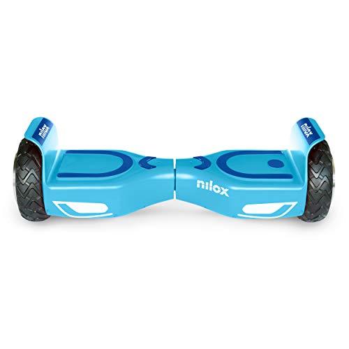 Nilox Doc 2 Hoverboard, Unisex Adulto, Azzurro, Taglia Unica