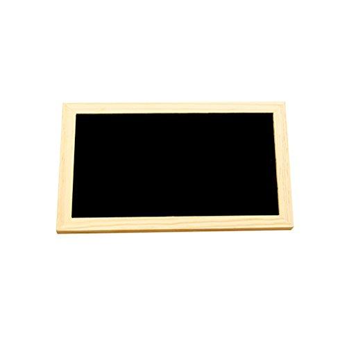 ultnice legno attaccatura lavagna einseitige Hanging Message Board con appeso String per parete...