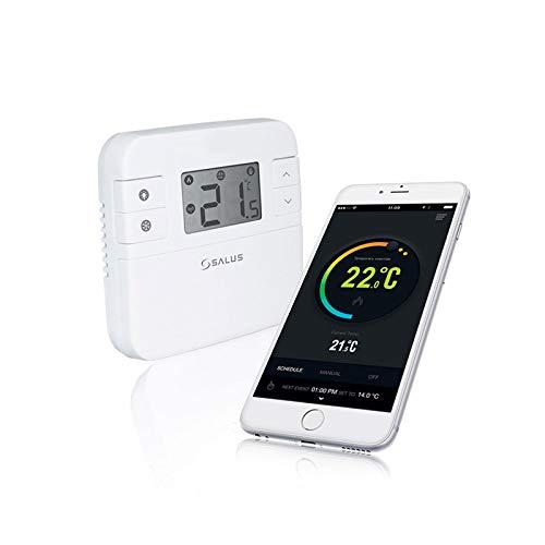 Thermostat programmable connecté sans fil et unité de réception Salus RT310i