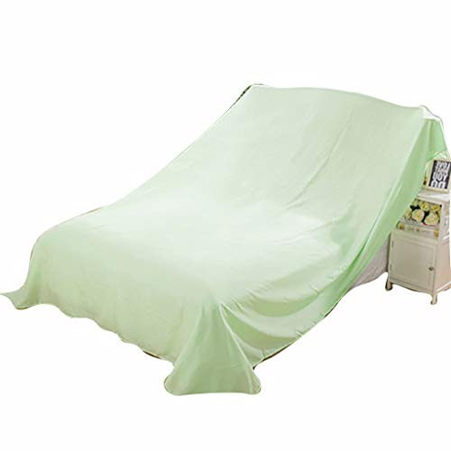 WGE - Copertura Antipolvere per Divano, 100-700 cm, Colore: Verde Chiaro
