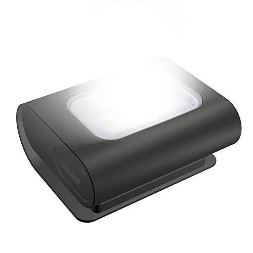 Luce di Sicurezza LED Running Light Ricaricabile USB Magnetica Impermeabile Lampada da Testa Petto...