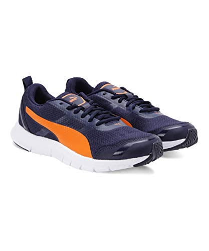 Puma Men's Track V2 IDP Peacoat/Orange Pop Running Shoes-10 UK (44.5 EU) (11 US) (37248203_a)