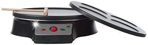 Mia CP 6075Piastra per crepes/uovo al tegamino/pancake, con 2differenti piastre di cottura/grill...