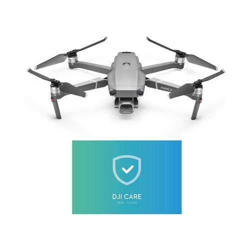 DJI - Drone Mavic 2 con Assicurazione Care Refresh - Drone con Videocamera Hasselblad L1D-20C da 20MP - Garanzia Completa per Mavic 2 che Copre fino a 2 Sostituzioni