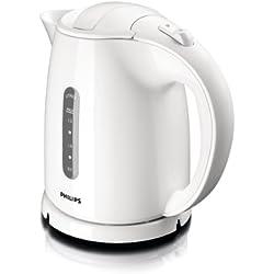 Philips HD4646/00 Wasserkocher (1,5 Liter, 2400 Watt, Anti-Kalk), weiß
