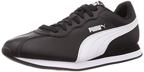 Puma Turin II, Zapatillas de Deporte Unisex Adults'o, Negro Black White, 42 EU