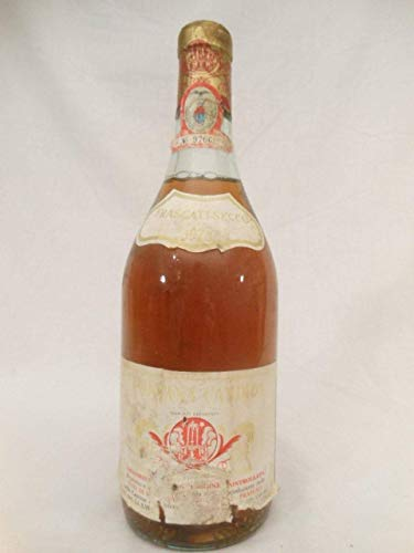 frascati-secco (étiquette abimée et déchirée) blanc 1973 - italie latium - une bouteille de vin