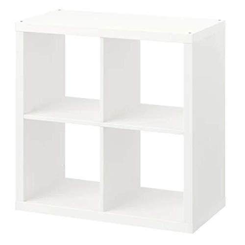 IKEA KALLAX Regal in weiß; (77x77cm)