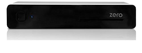 Vu+ ZERO - Receptor de TV por satélite (memoria flash 256 MB, 512 MB RAM, HDMI, USB, DVB-S2), negro [Clase de eficiencia energética A to C]