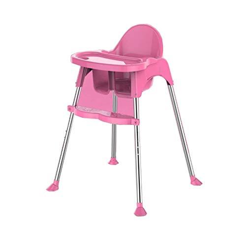 HTZ Alta sedia del bambino presidenza di alimentazione seggiolone Contemporanea e Junior Seat con cavo di sicurezza e vassoio & Appoggiapiedi estraibile (Color : B)