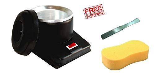 Rachmit Wax Heater Combo With Wax Spatula Kinfe + Sponge