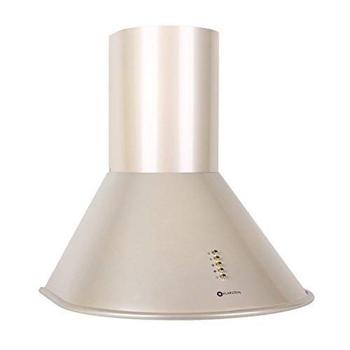 Klarstein Lumio Retro Cappa Aspirante da cucina in acciaio inox (60 cm, potenza di aspirazione pari...