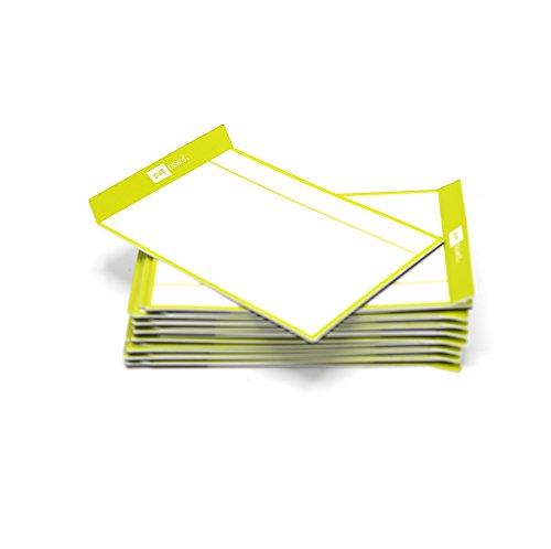 PATboard Lavagne di Scrum e Lavagne di Kanban TASKcards - Magnetico - Set di 16 Carte di Lime