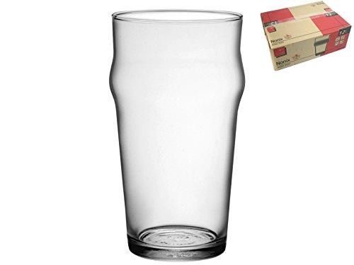 Bormioli Rocco - Set n° 12 Bicchiere Birra Pinta Imperiale - MOD. NONIX Pinta - capacità 58 cl - Vetro Temperato