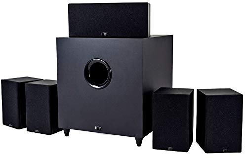 Monoprice Premium 5.1-Channel Home Theater System with Subwoofer (110565)