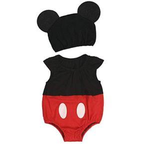 Western Deco Collection Disfraz de Mickey Mouse para bebé recién Nacido, para Halloween, Regalo del día del Nacimiento (6 a 12 Meses, Estilo 2)