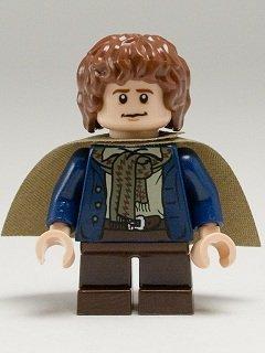 LEGO El Señor De Los Anillos: Pippin Minifigura Con Verde Capa