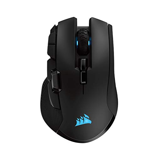 Corsair Ironclaw Wireless RGB Ricaricabile Mouse Gaming Ottico con Tecnologia Slipstream, Wireless,...