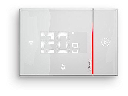 BTicino Smarther SX8000 Termostato Connesso da Incasso con Wi-Fi Integrato, Bianco