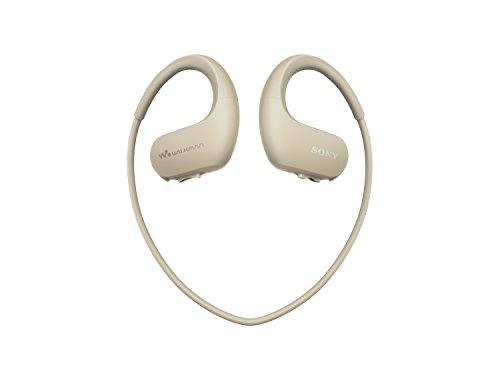 Sony NWWS413 Walkman - Reproductor MP3 deportivo (4 GB, resistente al agua salada y altas temperaturas), color crema
