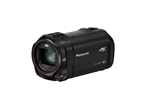 "Panasonic HC-VX980EG-K - Videocámara (MOS BSI, 25,4 / 2,3 mm (1 / 2.3""), 4,08 - 81,6 mm, tarjeta de memoria, 4K Ultra HD)"