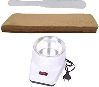 BE UNIQUE CARE Wax Heater Combo with Wax Strips 90 Gsm 70 Pc Plus Wax Spatula Knife