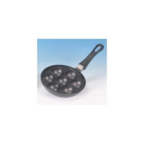 Geithainer 30980 Padella rotonda per krapfen, 18 cm