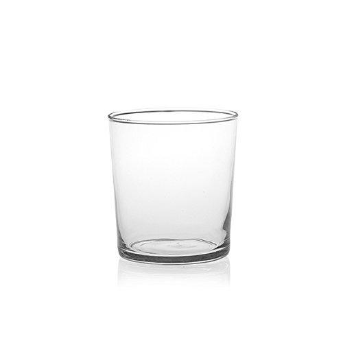 Bormioli Rocco Bodega Medium 35,5 cl confezione de 12 pezzi, Ø 85 mm, Vetro trasparente