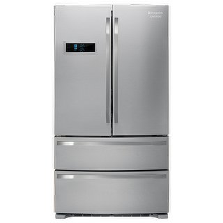 Hotpoint FXD 822 F Freestanding 542L A+ Acciaio inossidabile side-by-side refrigerator -...
