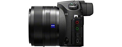 "Sony DSC-RX10 - Cámara compacta de 20.2 Mp (pantalla de 3"", zoom óptico 8.3x, estabilizador, vídeo Full HD, WiFi), negro"