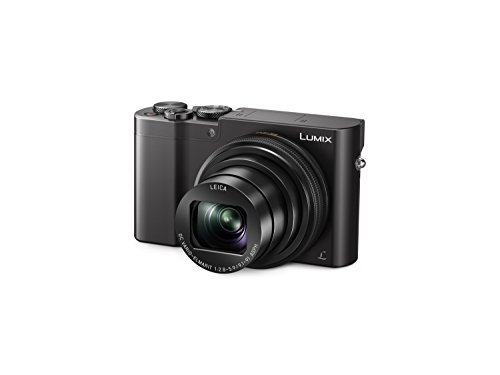 "Panasonic Lumix DMC-TZ100EG-K - Cámara digital compacta (20.1 MP, 1"" MOS 5472 x 3648 Pixeles, 9,1 - 91 mm) color negro"