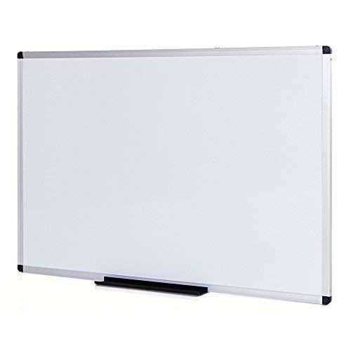 VIZ-PRO Lavagna non Magnetica, cornice in alluminio, 1200 x 900 mm