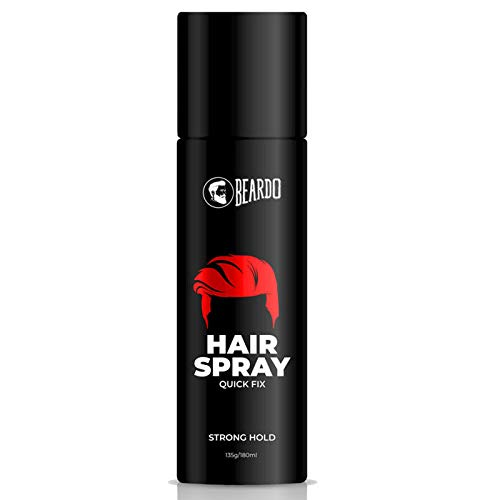 Beardo Strong Hold Hair Spray For Men (180ml)