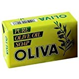 Oliva - Olive oil soap bar - 6 X 125g - 6 pack Bundle