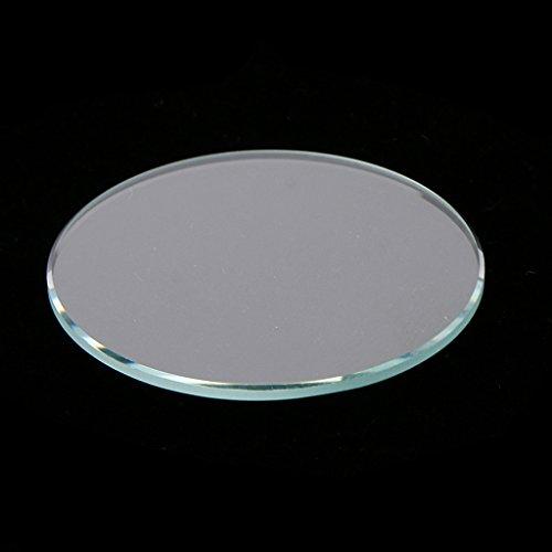 Baoblaze 10 Pz Vetro Minerale in Cristallo per Orologio Parti di Ricambio Orologiaio - Chiaro 34mm