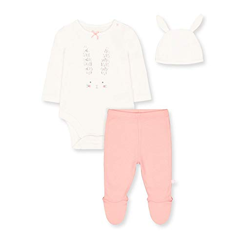 Mothercare Baby Girl's Cotton Clothing Set (TA615-1_Multicoloured_0-3M)