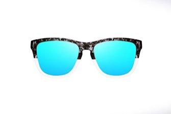 HAWKERS--ONE-X--Grey-Tortoise--Clear-Blue--Gafas-de-sol-para-hombre-y-mujer