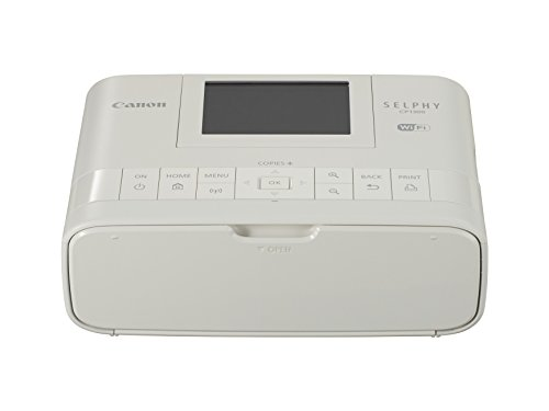 Canon Selphy CP1300 WLAN Foto-Drucker (Thermosublimationsdruck, 300 x 300 dpi) weiß