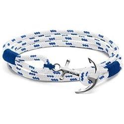 Tom Hope Royal Blue Armband (Lengte: 21.00-22.50 cm) TM0163