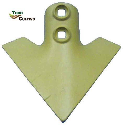 Reja arado 13A 6 mm. sin nervio Golondrina. Repuesto agrícola.