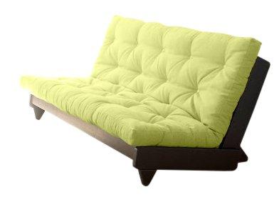 VivereZen - Divano Letto futon Fresh Wengé - Zen Wengè 140x200 + futon colorato