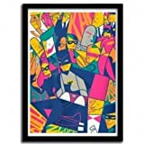 K.Olin tribu Affiche 1966da Ale Giorgini–Art Print–Qualite fine Art, 40_x_60_cm
