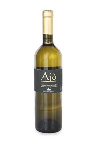 Vino bianco Ajò Nuragus di Cagliari D.O.C. 75cl x6 bottiglie